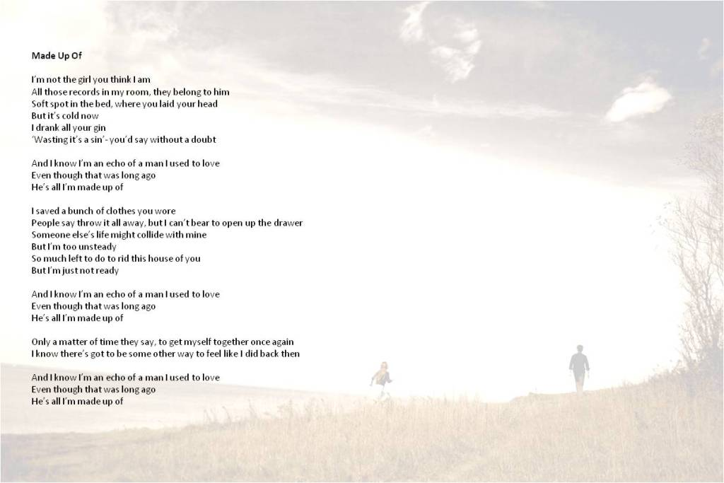 Made Up Of lyrics with photo