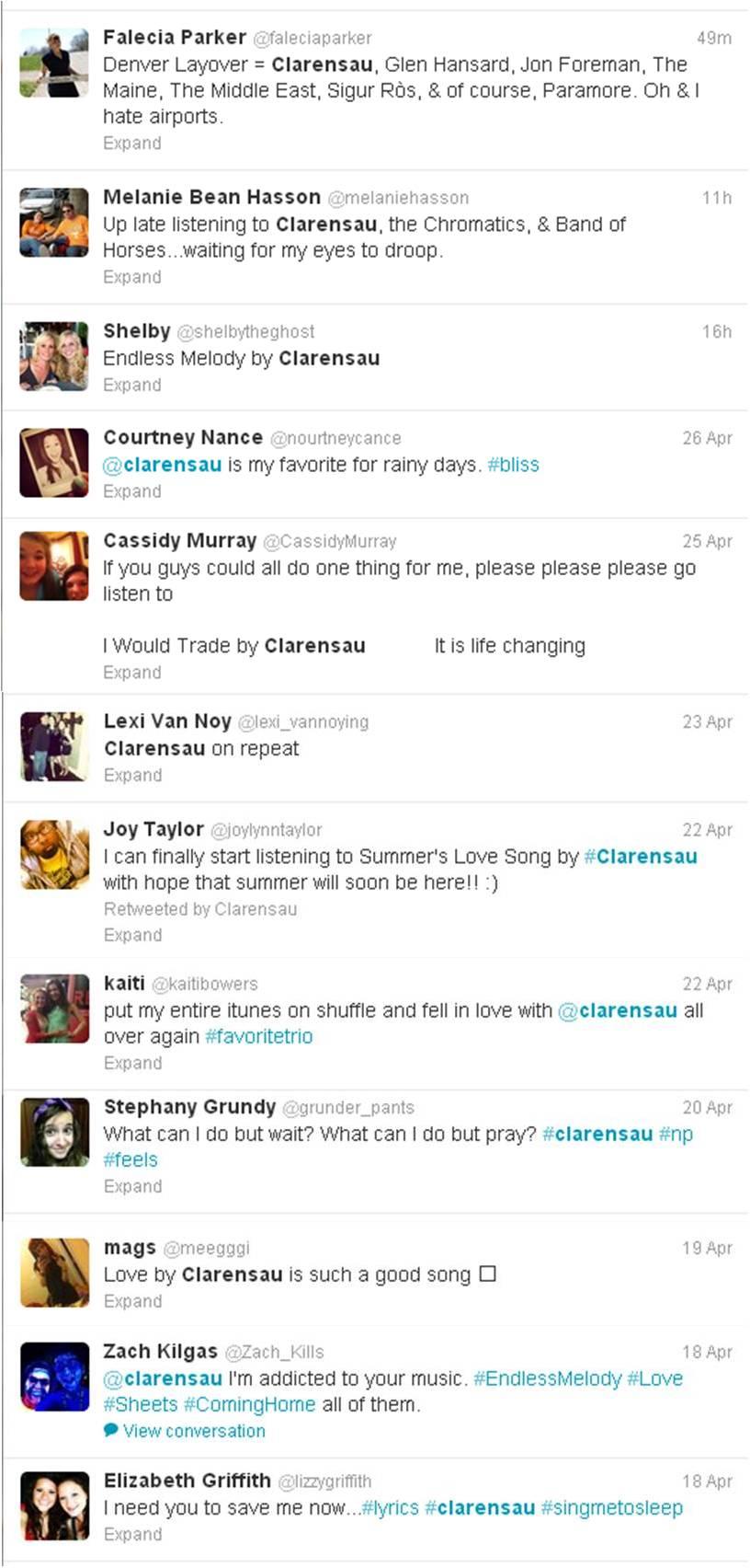 Clarensau Twitter 04-24-2013