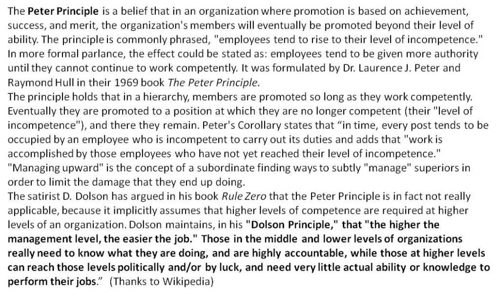 Dolson Principle