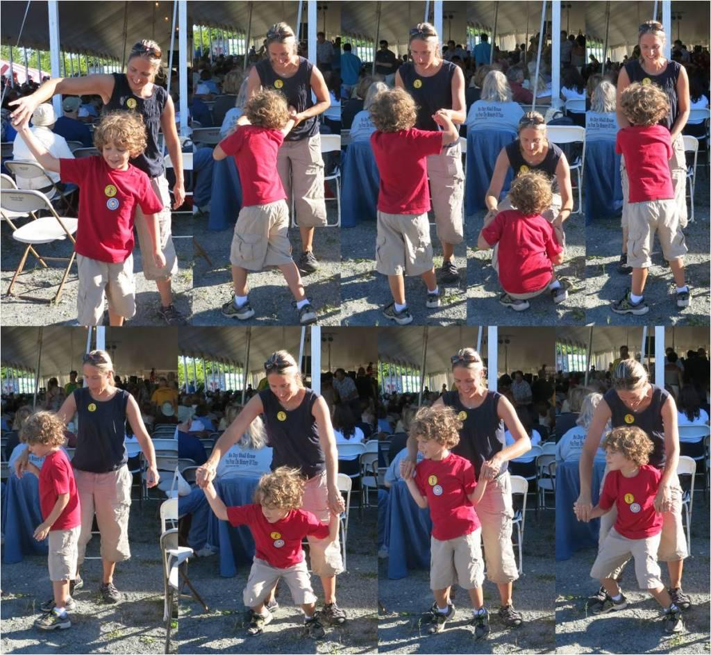 American Folk Festival Dancing 2013
