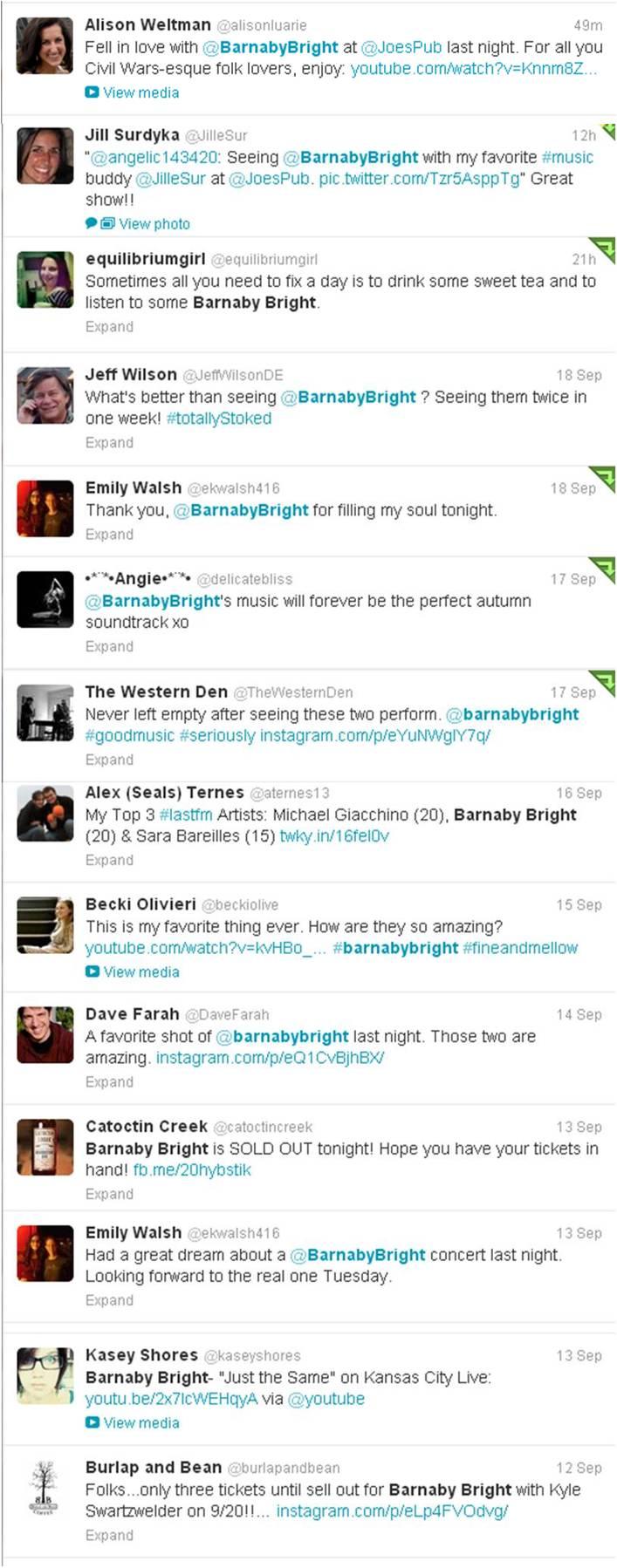 BB Tweets 09-19-2013
