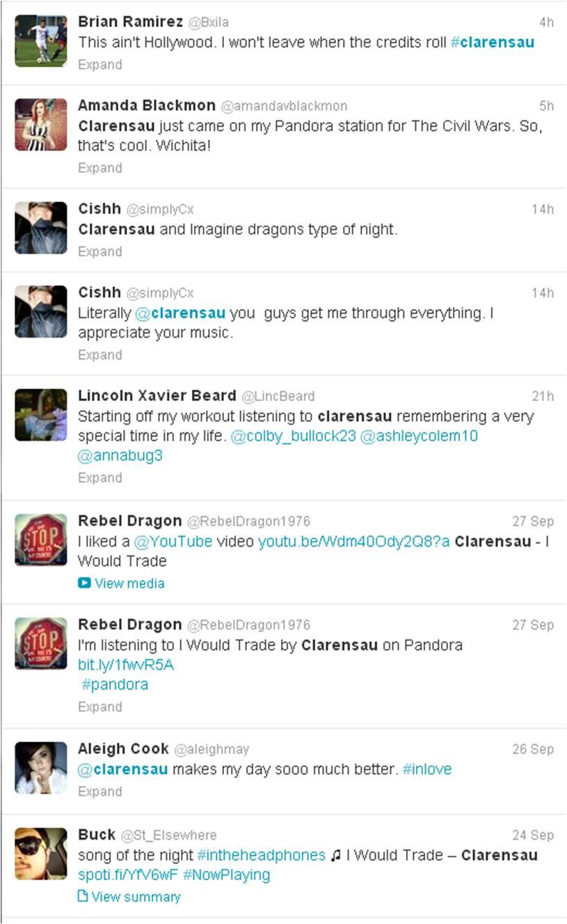 Clarensau Twitter 10-03-2013