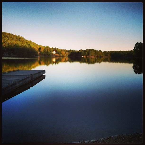 Hosmer Pond 09-18-2013