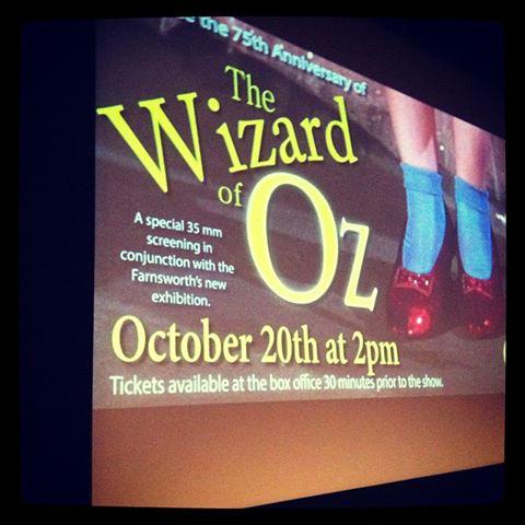 Wizard Of Oz 10-20-2013