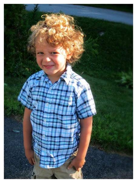 Letter size - first day of kindergarten