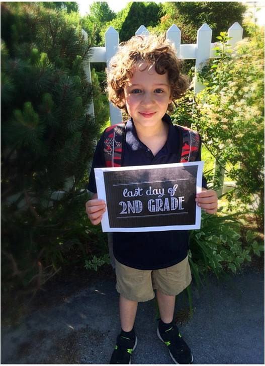 Last Day Of 2nd Grade - Letter Size