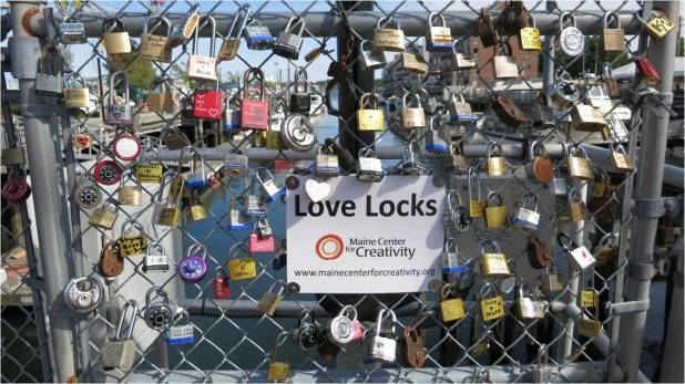 Love Locks 1 - Letter Size