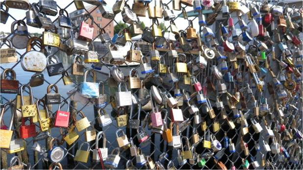 Love Locks 2 - Letter Size