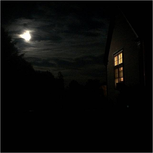 Moon over House End of Summer 2014 - Letter Size