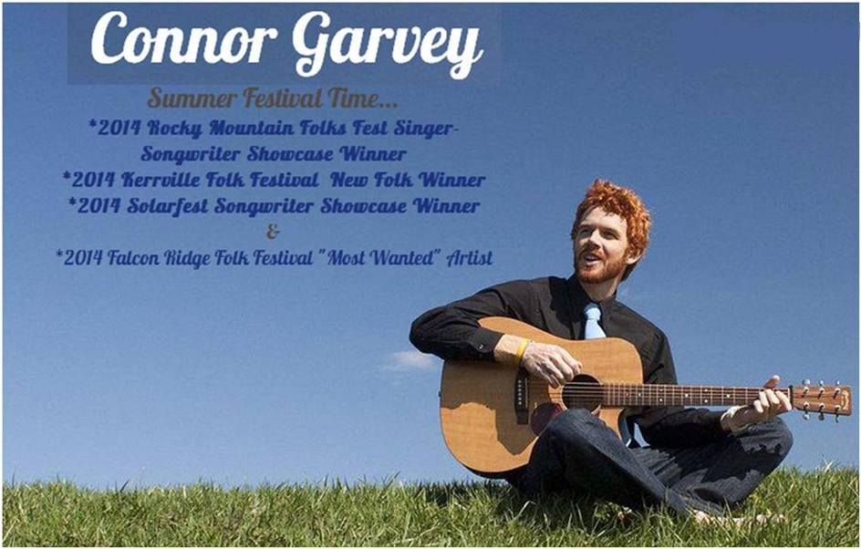 Connor Garvey Summer Festivals 2014 Awards - 2 - Letter Size