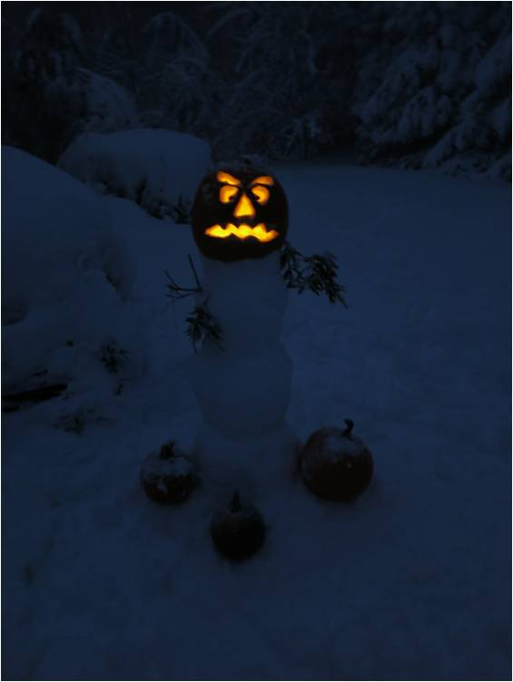 Halloween Snowman 2014 - Letter Size