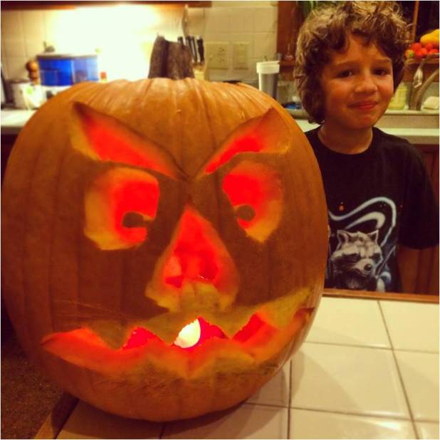 Pumpkin Carving 2014 - Letter Size
