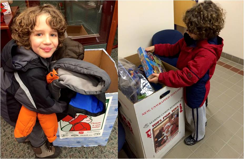 Coats For Kids - Toys For Tots 2014 - Letter Size
