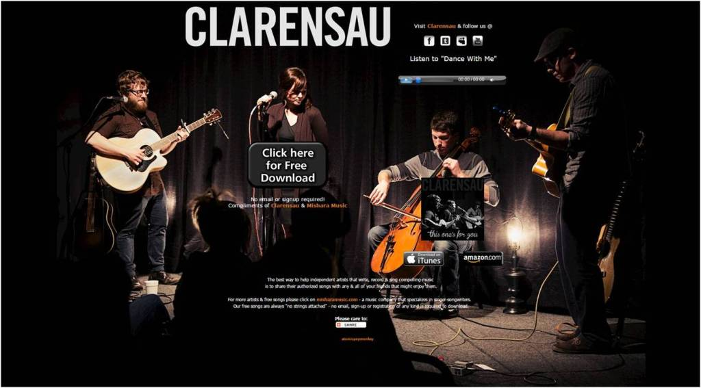 Free Song Dance With Me Clarensau - Letter Size