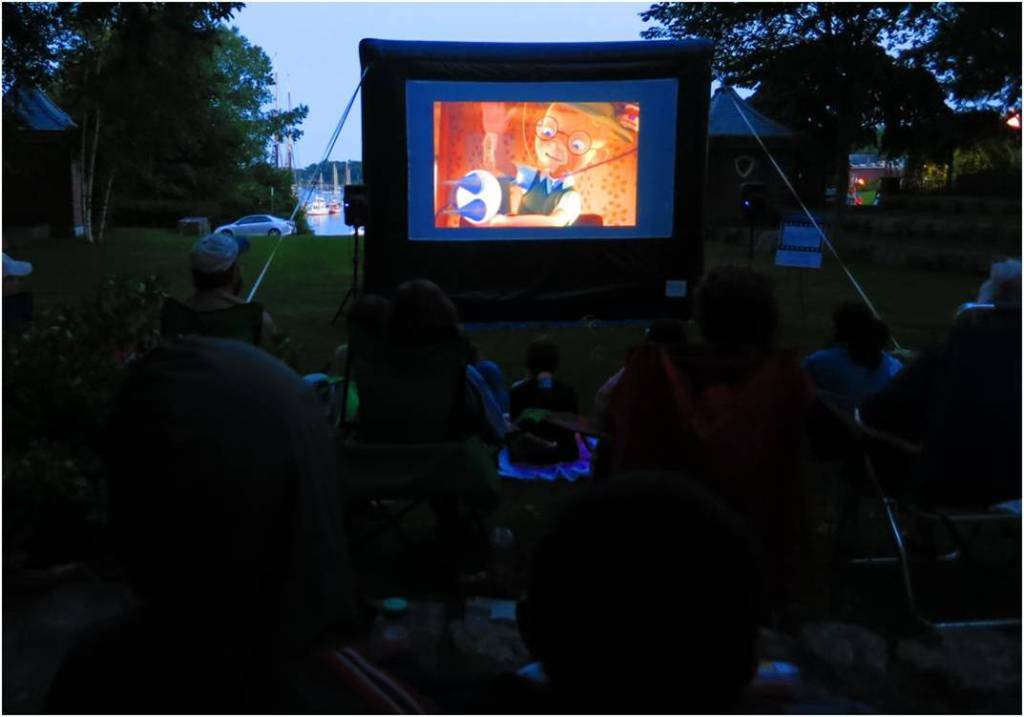 Movie in the Amphitheater - 2014 - Letter Size