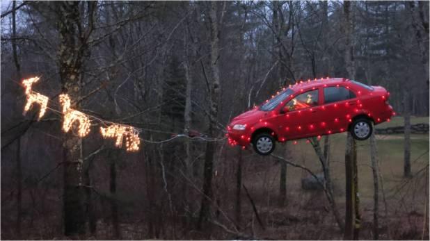 Santa Car 2014 - Letter Size
