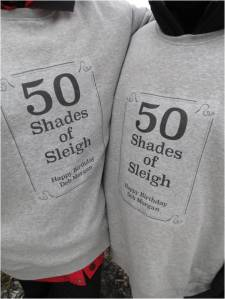 50 Shades of Sleigh - Letter Size