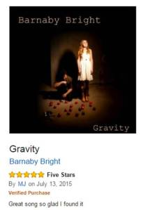 Barnaby Bright Gravity