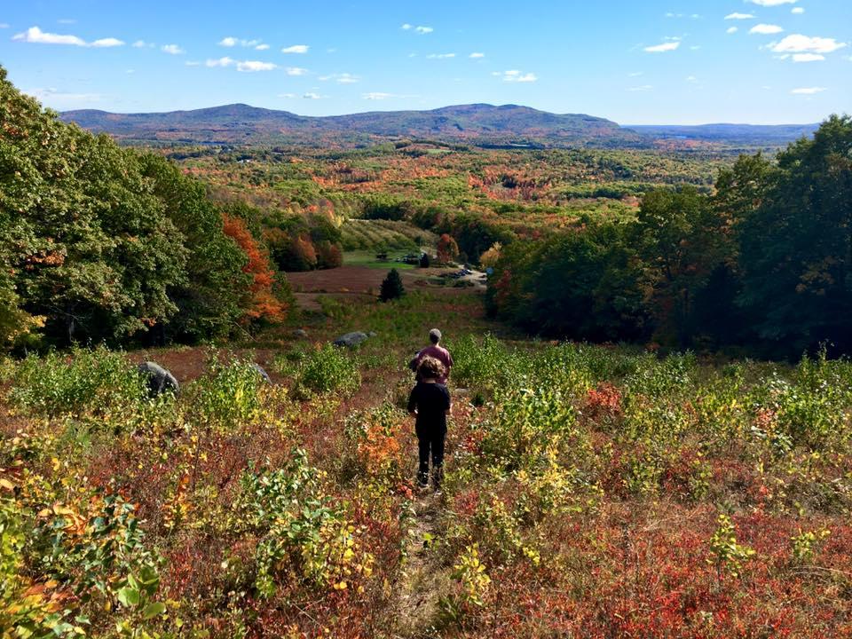 hiking-at-sewall-organic-apple-orchard-2016
